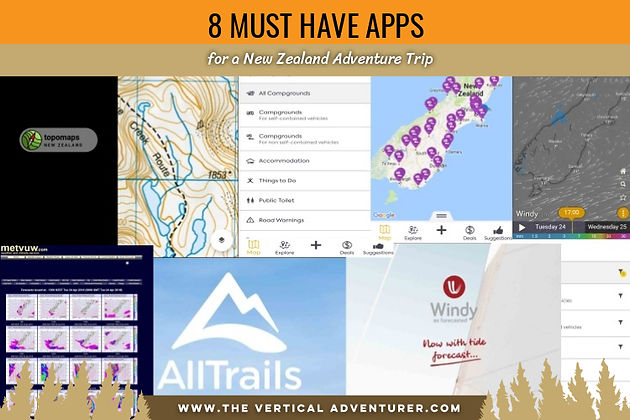 8 Must Have Apps for a New Zealand Adventure Trip