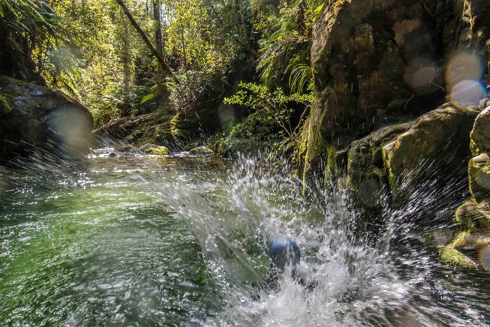 Campbell Creek Canyon NZ