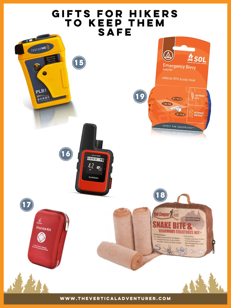 GIFTS FOR HIKERS TO KEEP THEM SAFE