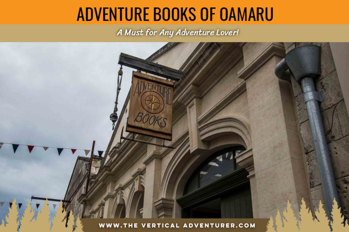 Adventure Books of Oamaru. A Must for Any Adventure Lover!