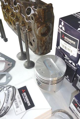Mitsubishi Minpelle MAXIDIESEL moteur TP