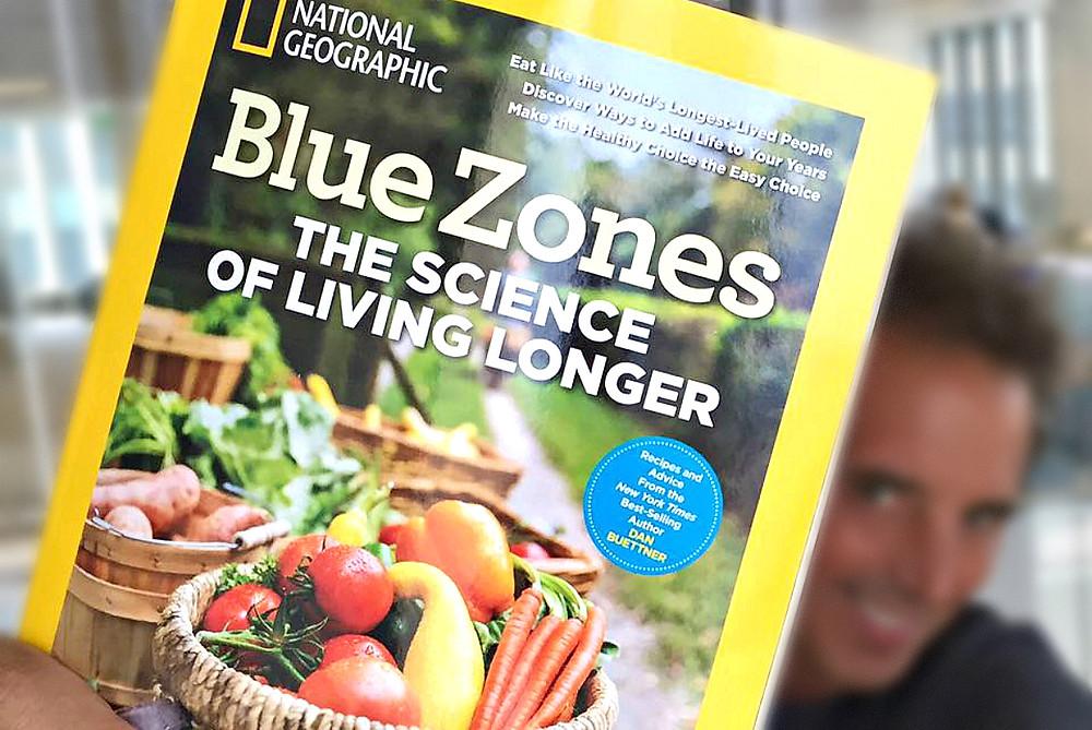 Dan Buettner, author of Blue Zones book