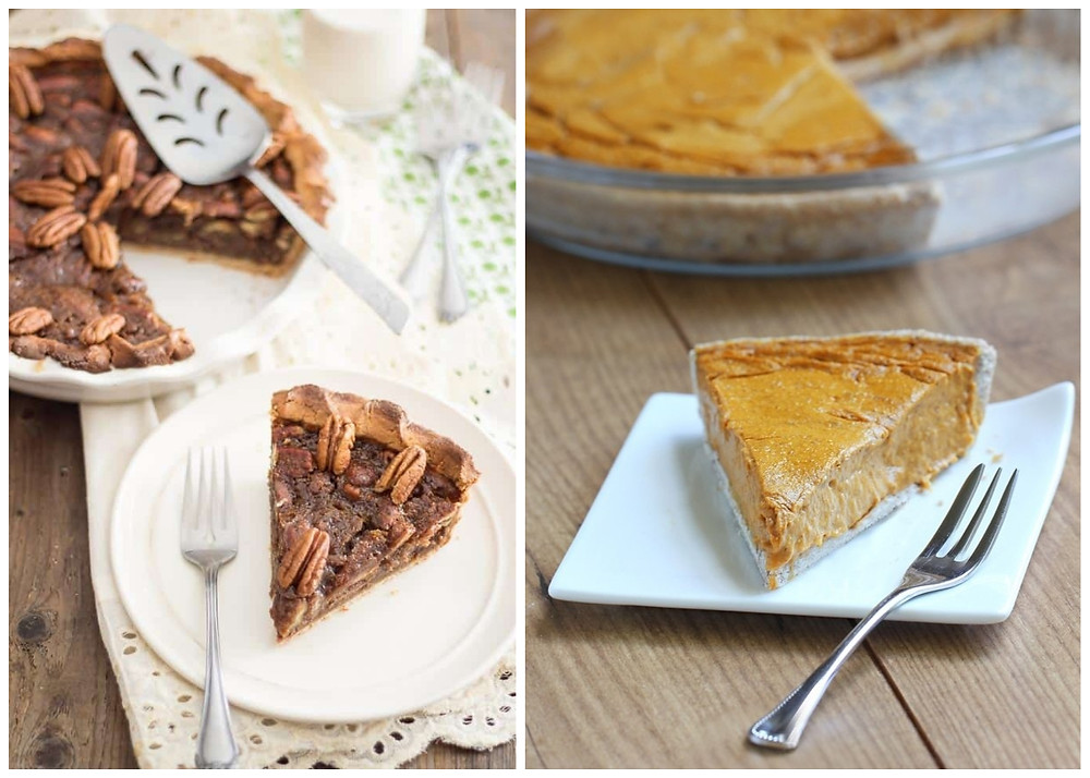 healthy thanksgiving pies