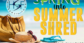 New Spring Into Summer Shred Group Challenge