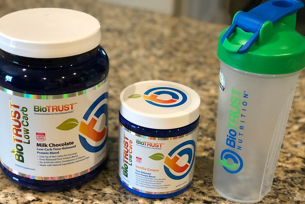 Biotrust protein is low carb and yummy!