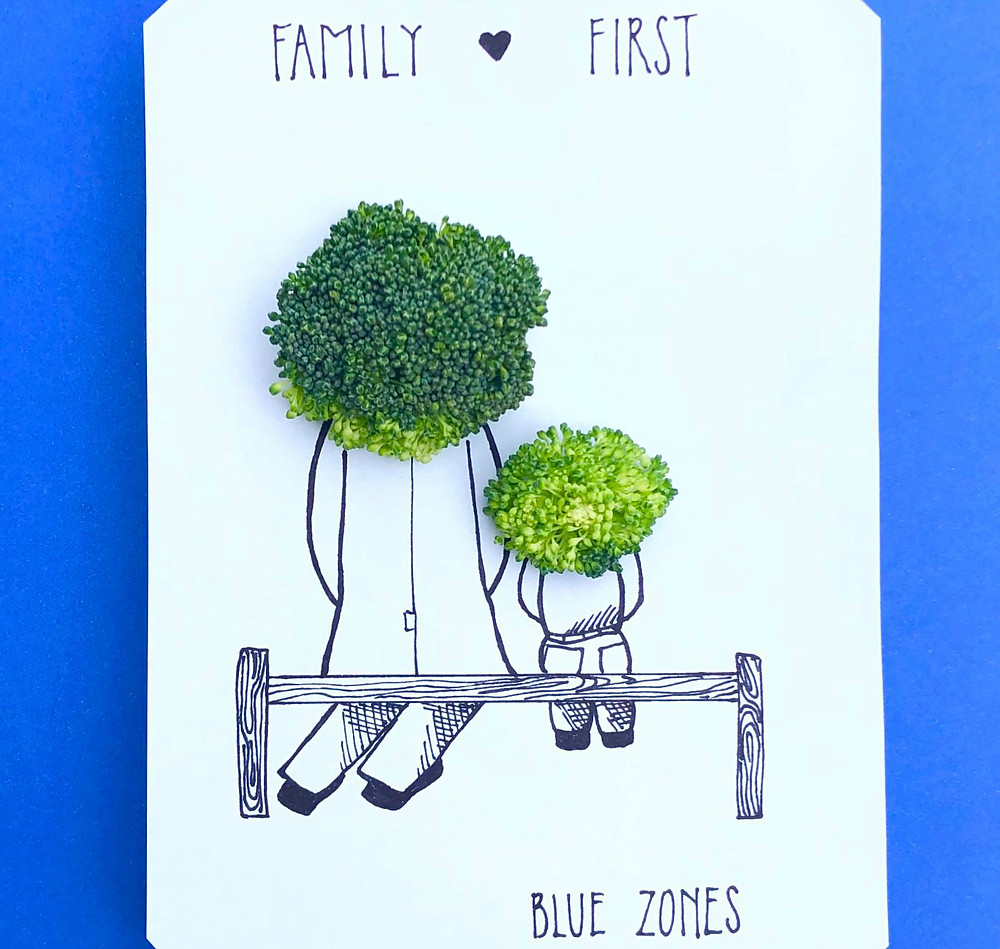 family first blue zones