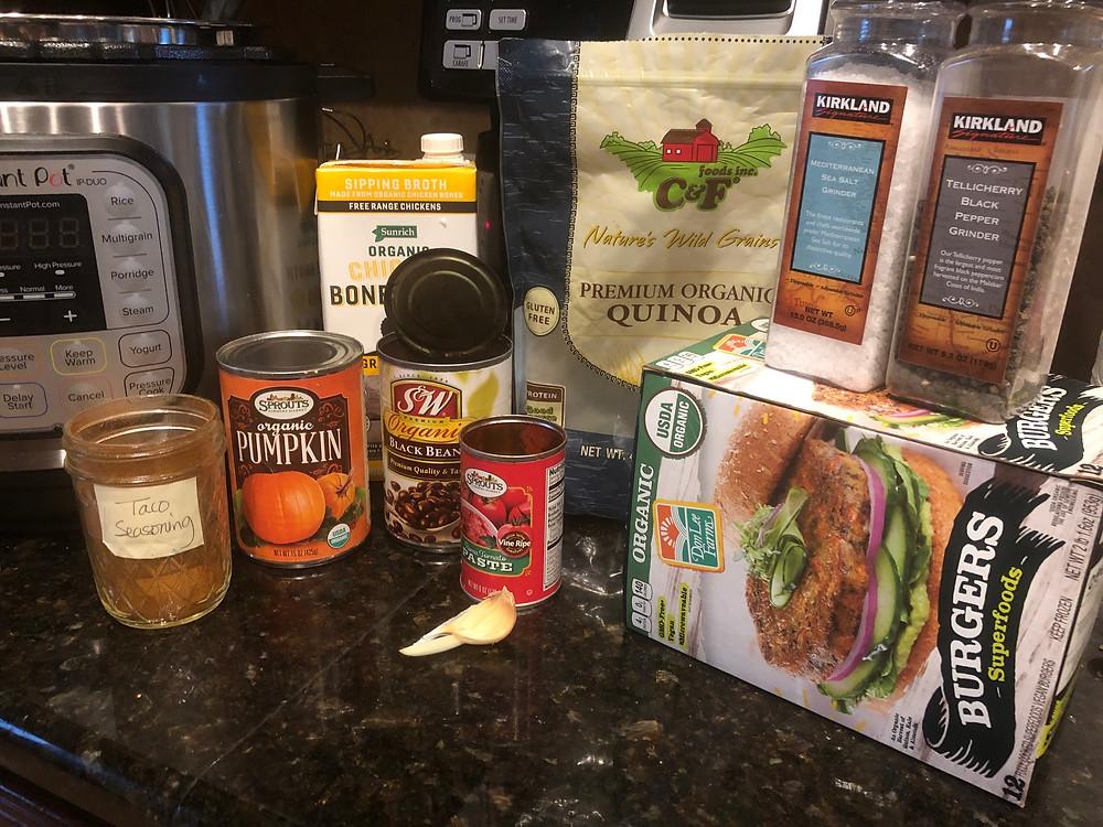 pantry food items