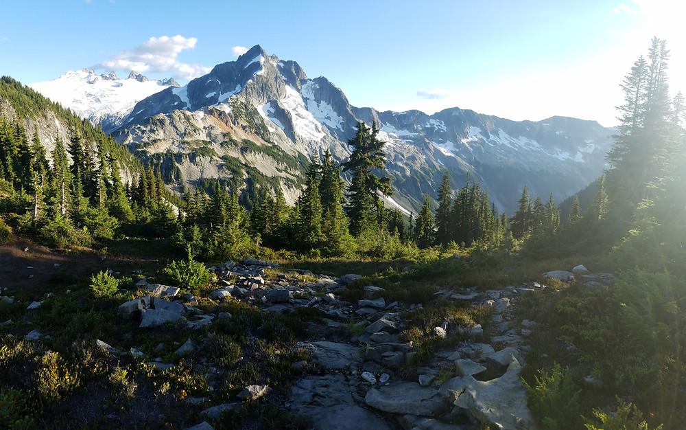 Evergreen Glacier mountains