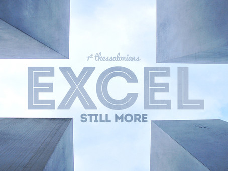 Excel Still More: Genuine Concern and Love
