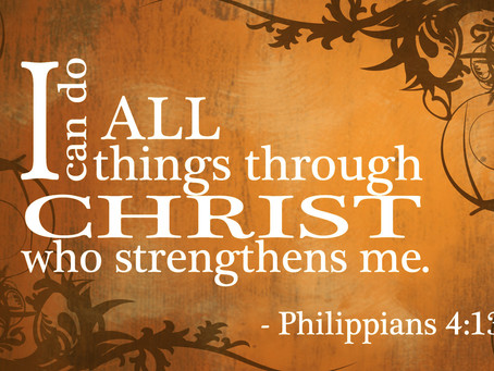 Rely on God for Strength
