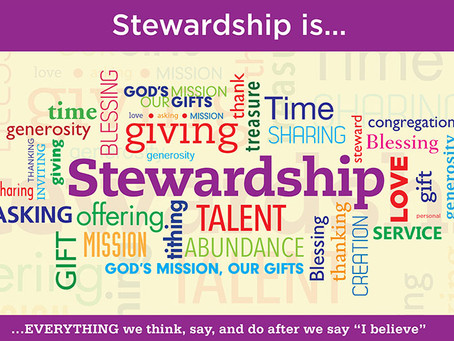 Christian Stewardship: Stewardship in Community