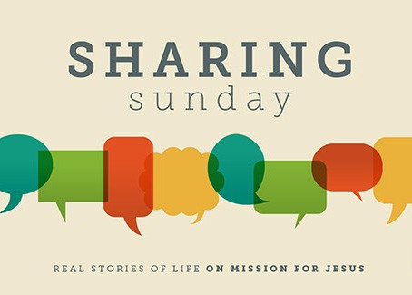 August Sharing Sunday