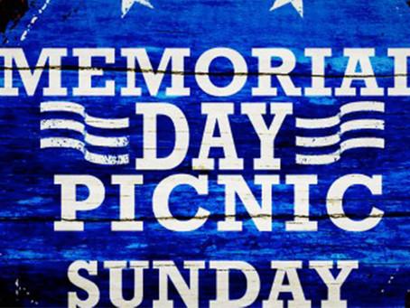 Annual Memorial Day Church Picnic
