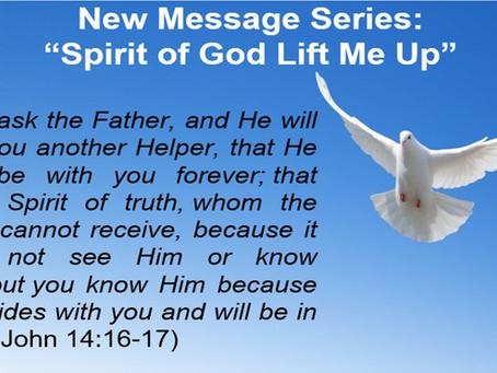 Spirit of God Lift Me Up: The Spirit in Christ