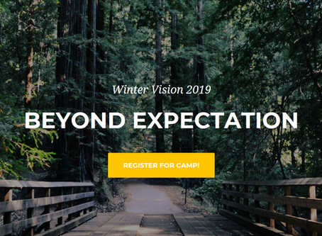 Winter Vision Conference 2019