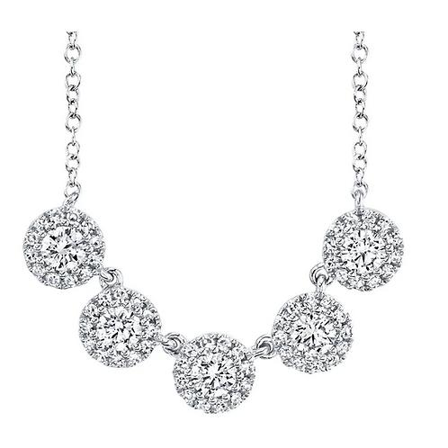 5 Halo Necklace