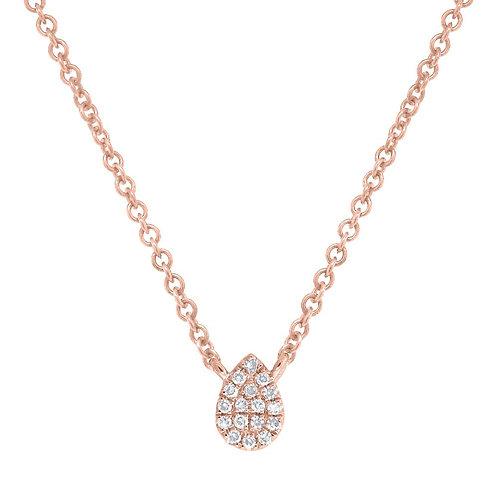 Pear Shape Necklace