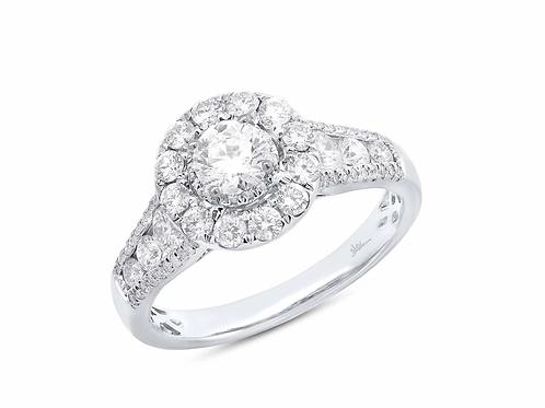 1.40ct Round Engagement ring