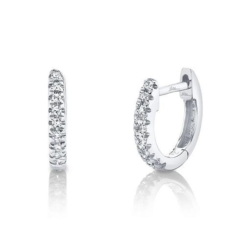 Mini Diamond Huggies