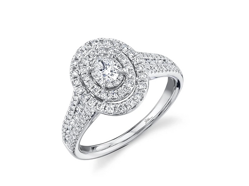 0.75ct Oval Engagement ring