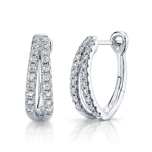 Split Diamond Huggies