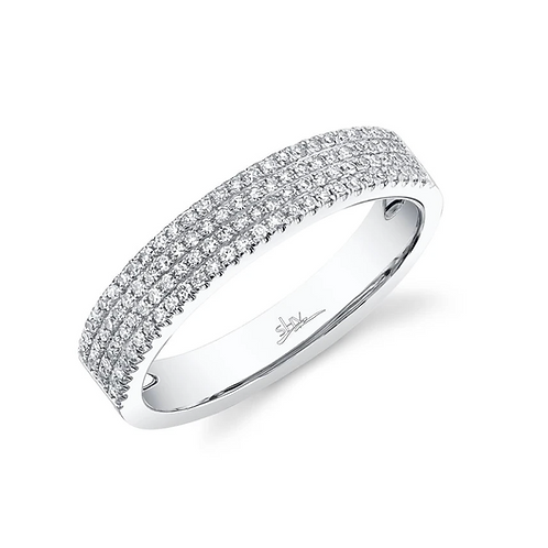 Four Row Pave Band