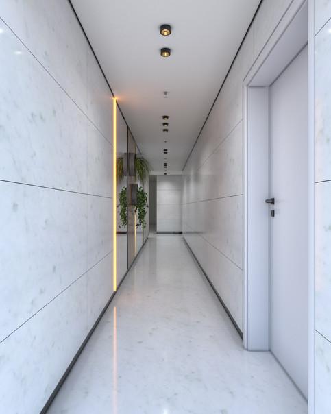 Building Floor Lobby   Tirat Carmel