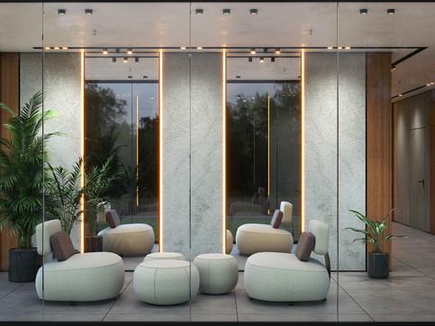 Ramat Gan Lobby | Building four