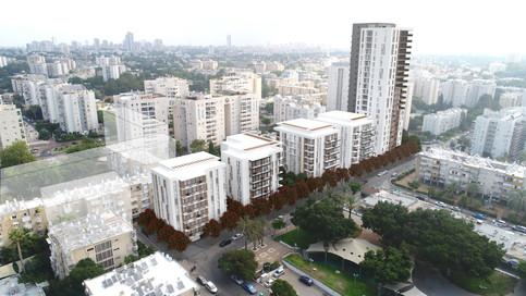 Pinui Binui | Photomontage  | Tel Aviv
