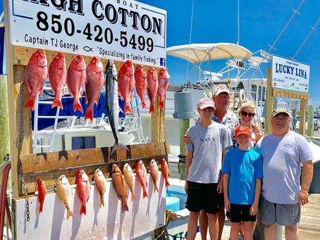 Deep Sea Fishing Adventures & 3 Minute Fish Recipes