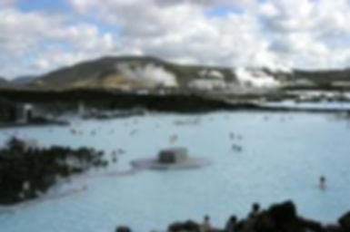 Blue Lagoon – the bathing area where geo-thermal water naturally mixed with salts and minerals has healing effects on skin conditions. This is in a natural lava surroundings – open door pool. Lava cave with steam-bath. Blue Lagoon bathing in the end of the