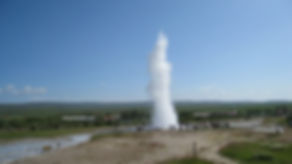GEYSIR: The biggest of Iceland´s famous hotsprings.