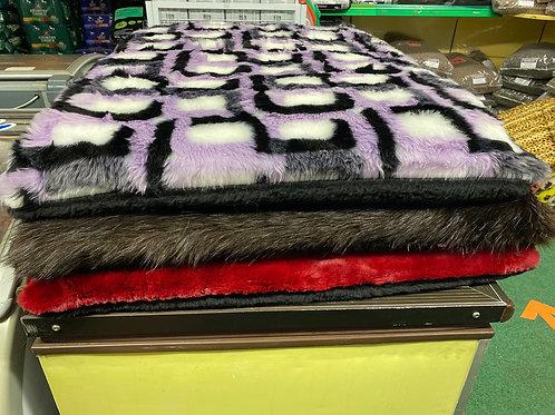 Luxury Fur Mat