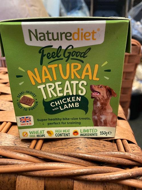 Nature Diet Chicken & Lamb Treats