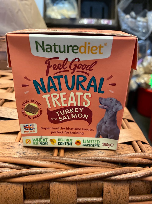 Nature Diet Turkey & Salmon Treats