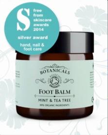 Botanicals Foot Balm review by Sarah Santa Cruz, Mobile Spa Mallorca