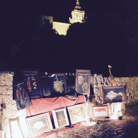 """ARTDEMOSSA: """"La Nit del Art"""" of Valldemossa, Mallorca."""
