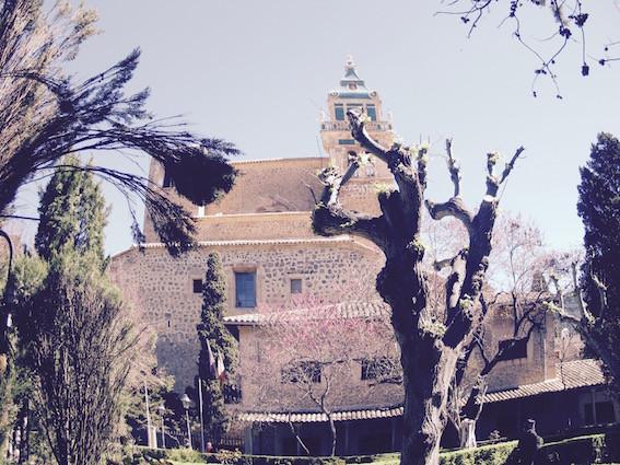 Real Cartuja Valldemossa Majorca from Town Hall gardens by Sarah Santa Cruz