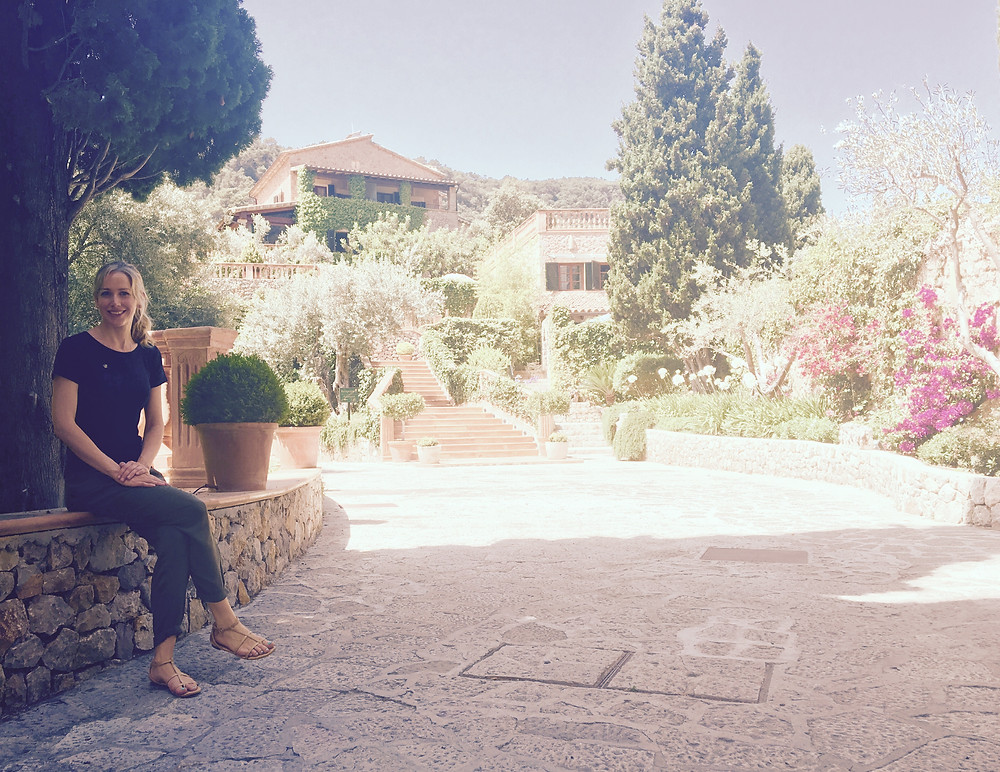 Sarah Santa Cruz. Resident Spa Therapist at Hotel Valldemossa Majorca, Spain