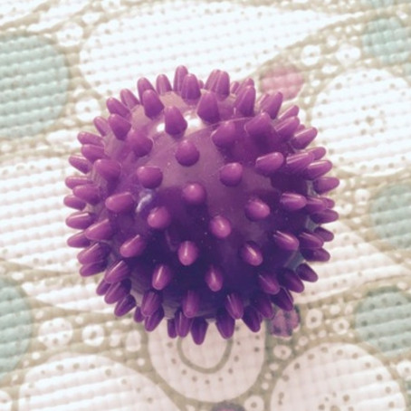 Best investment ever!...a spiky ball...