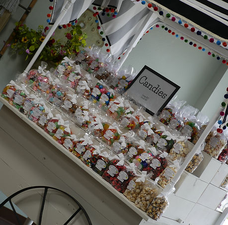 Ruby Candy Cart
