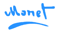 Monet Logo Transparent - Blue2.png
