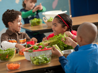 Installing Healthy Eating Habits in Kids