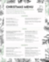 Apple Inn at Lucker Christmas Menu 2019
