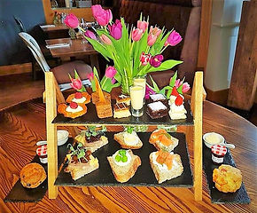 The Plough Alnwick Northumberland Afternoon tea