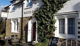 White Swan Inn Warenford. Belford. Pub Restaurant B&B