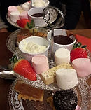 Eating out in Northumberland. Blue Bell Hotel Belford.  Special dessert . Special offers and events menu