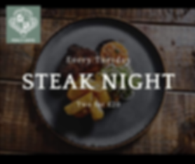 Percy Arms Chatton Steak Night