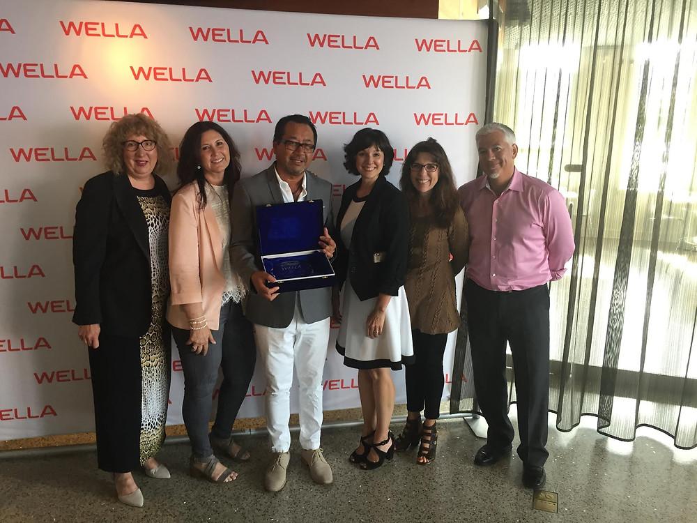 2017 Gold Award - WELLA