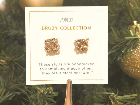JaxKelly Druzy Earrings